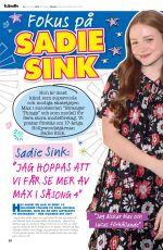 SADIE SINKA in Julia Magazine, December 2019