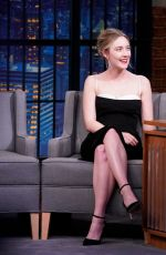SAOIRSE RONAN at Late Night with Seth Meyers in New York 12/10/2019