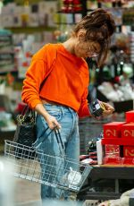 SARAH HYLAND Out Christmas Shopping in Studio City 12/22/2019
