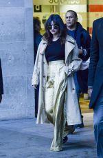 SELENA GOMEZ Leaves BBC Radio Studios in London 12/11/2019