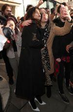 SELENA GOMEZ Leaves Kiss FM Breakfast Show in London 12/11/2019