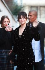 SELENA GOMEZ Leaves Ritz Hotel in Paris 12/13/2019