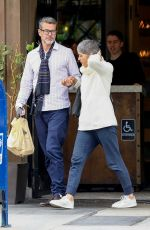 SELMA BLAIR and David Lyons Out in Beverly Hills 12/06/2019
