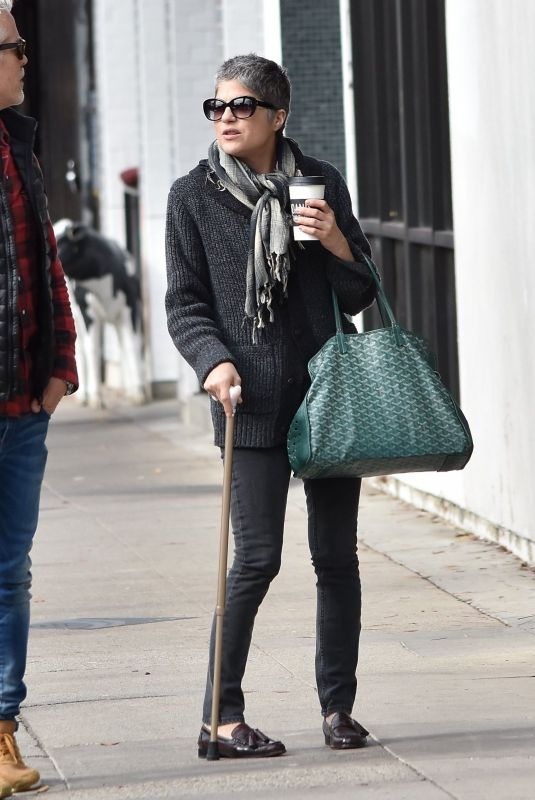 SELMA BLAIR Out for Lunch in Studio City 12/30/2019