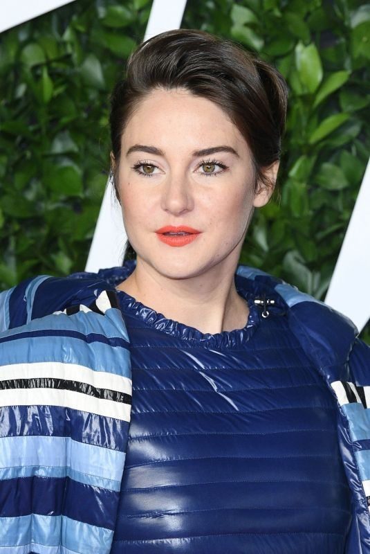 SHAILENE WOODLEY at Fashion Awards 2019 in London 12/02/2019
