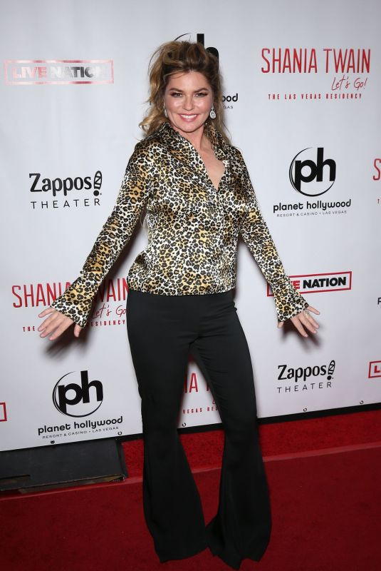 SHANIA TWAIN at Shania Twain Let Go Las Vegas Residency Opening 12/06/2019