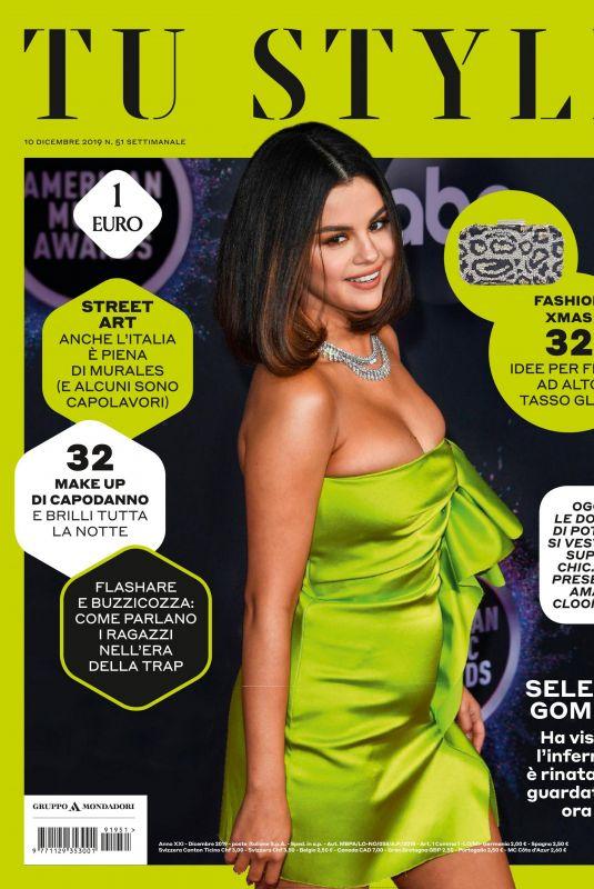 SLENA GOMEZ in Tu Style Magazine, December 2019