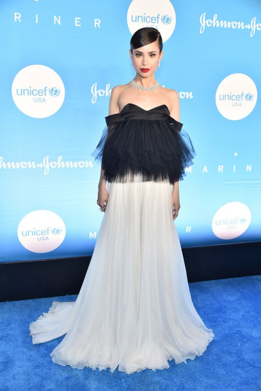 SOFIA CARSON at Unicef Snowflake Ball in New York 12/03/2019