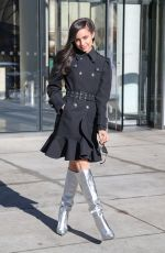 SOFIA CARSON Out in New York 12/03/2019