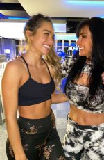SOMMER and SHANNOIN RAY at a Gym - Instagram Photos and Video 12/26/2019