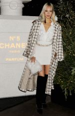 SOO JOO PARK at Chanel No. 5 In the Snow Party in New york 12/10/2019