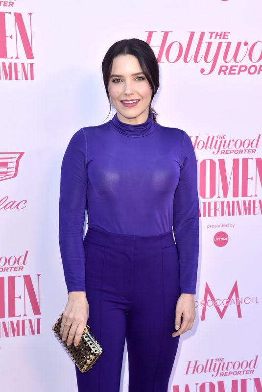 SOPHIA BUSH at The Hollywood Reporetr's Power 100 Women in Entertainment in Hollywood 12/11/2019