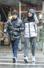 SOPHIE TURNER and Joe Jonas Out and About in New York 12/02/2019