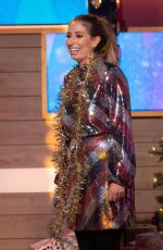 STACEY SOLOMON at Loose Women Show in London 12/20/2019