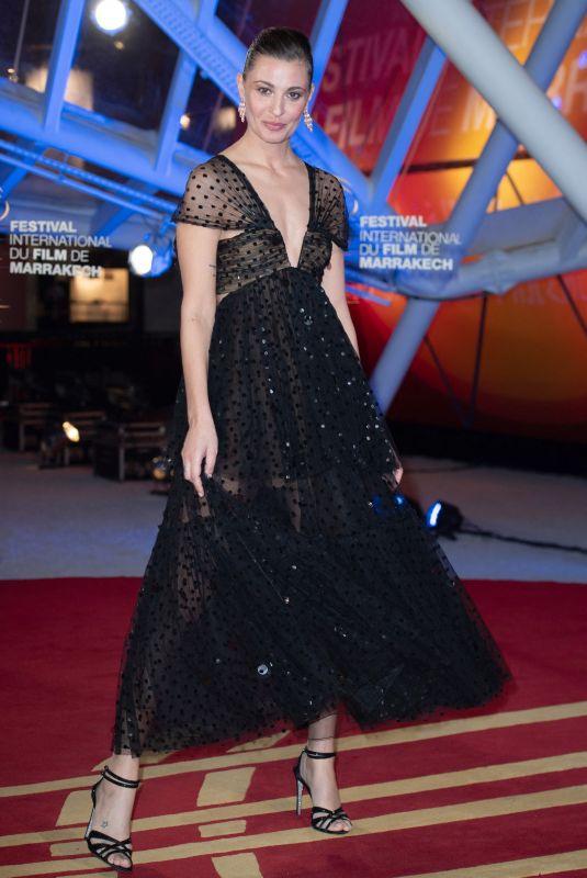 SVEVA ALVITI at 18th Marrakech International Film Festival Opening Ceremony 11/29/2019