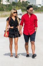SYLVIE MEIS and Nicals Castello Out in Miami Beach 12/05/2019