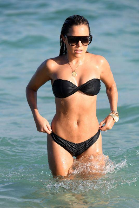 SYLVIE MEIS in Bikini on the Beach in Miami 11/30/2019