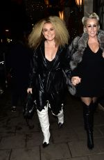TALLIA STORM Leaves Claridge