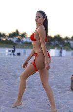 TAO WICKRATH in Bikini at a Beach in Miami 12/06/2019