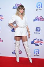 TAYLOR SWIFT at Capital FM Jingle Bell Ball in London 12/08/2019