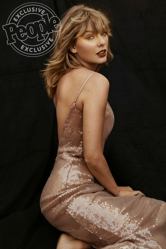 TAYLOR SWIFT in People Magazine, People of the Rear Issue, December 2019