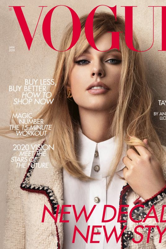 TAYLOR SWIFT in Vogue Magazine, January 2020
