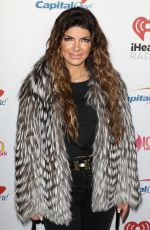 TERESA GIUDICE at Z100's Iheartradio Jingle Ball 2019 in New York 12/13/2019