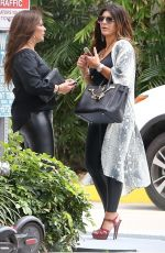 TERESA GIUDICE Out for Lunch in Miami 12/30/2019