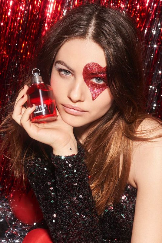THYLANE BLONDEAU for Cacharel Parfums Glitter Parade, Holiday 2019 Campaign
