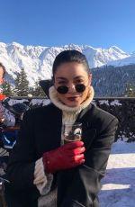 VANESSA HUDGENS on Holiday in Switzerland - Instagram Photos 12/29/2019