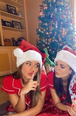 VICTORIA JUSTICE and MADISON REDD - Christmas Photos 12/25/2019