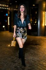 VICTORIA JUSTICE Night Out in New York 12/10/2019