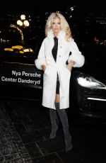 VICTORIA SILVSTEDT at Alzheimer Research Fundraiser in Stockholm 12/03/2019