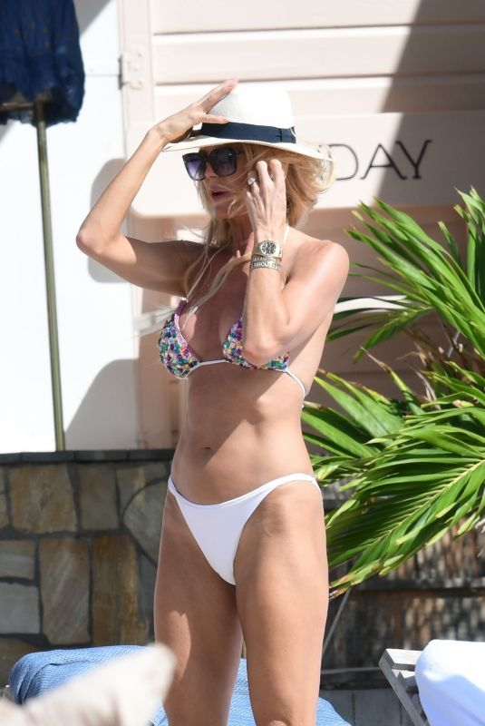 VICTORIA SILVSTEDT in Bikini on Holiday in St Barts 12/24/2019