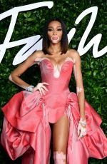 WINNIE HARLOW at Fashion Awards 2019 in London 12/02/2019