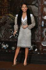YARA SHAHIDI at Chanel Metiers D