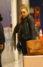 ABBIE CORNISH at LAX Airport in Los Angeles 01/06/2020