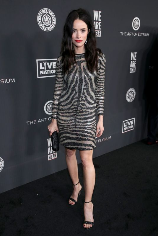 ABIGAIL SPENCER at Art of Elysium Presents We Are Hear's Heaven 2020 in Los Angeles 01/04/2020
