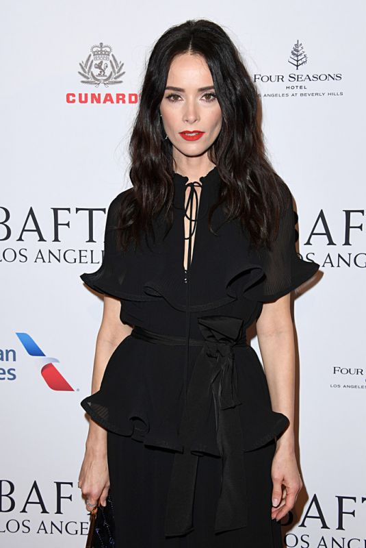 ABIGAIL SPENCER at Bafta Los Angeles Tea Party 01/04/2020