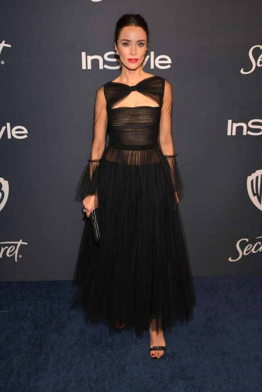 ABIGAIL SPENCER at Instyle and Warner Bros. Golden Globe Awards Party 01/05/2020