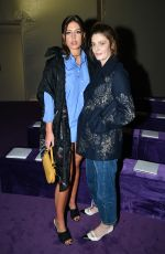 ADELE EXARCHOPOULOS and CHIARA MASTROIANNI at Dior Haute Couture Show at PFW in Paris 01/20/2020
