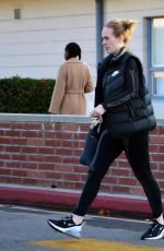 ADELE Leaves a Library in Los Angeles 01/24/2020