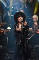 ADRIENNE WARREN Performs River Deep / Mountain High at Late Show with Stephen Colbert 01/13/2020