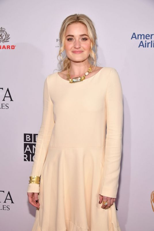 AJ MICHALKA at Bafta Los Angeles Tea Party 01/04/2020