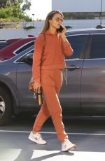 ALESSANDRA AMBROSIO Out in Brentwood 01/28/2020