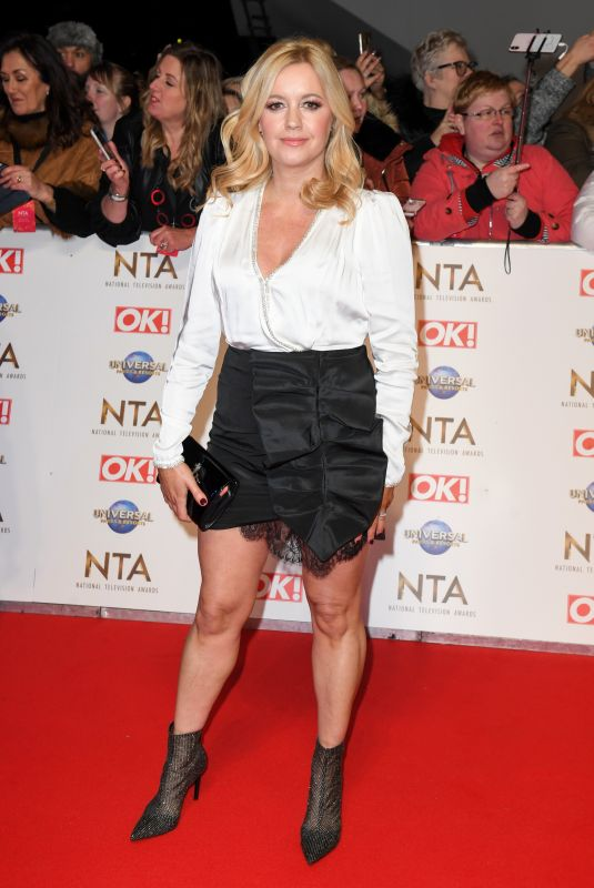 ALEX FLETCHER at National Television Awards 2020 in London 01/28/2020