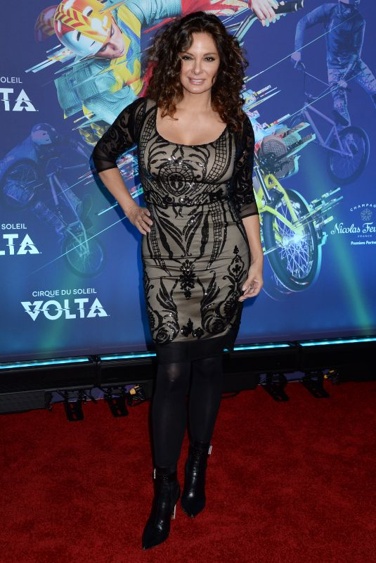 ALEX MENESES at Cirque Du Soleil's Volta Premiere in Los Angeles 01/21/2020