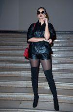 ALICIA AYLIES at Antonio Grimaldi Fashion Show in Paris 01/20/2020