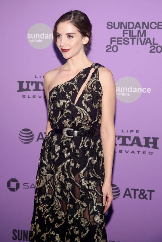 ALISON BRIE at Horse Girl Premiere in Park City 01/27/2020
