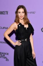 ALISON BRIE at Promising Young Woman Premiere at 2020 Sundance Film Festival 01/25/2020